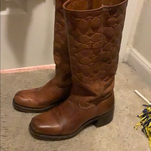 Coach boots by Frye